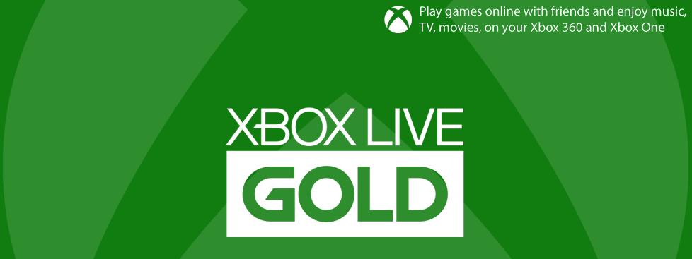 Xbox Live Gold купить