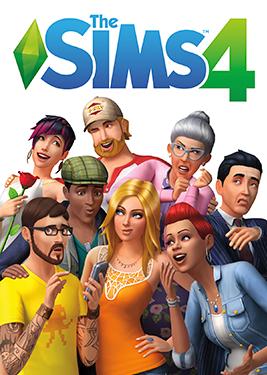 The Sims 4 постер (cover)