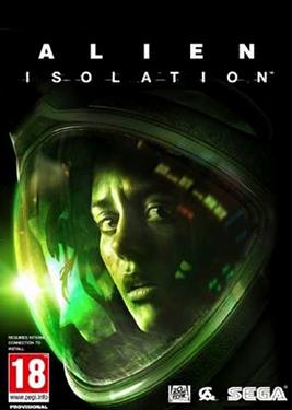 Alien: Isolation постер (cover)