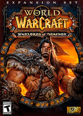 World of Warcraft: Warlords of Draenor постер (cover)