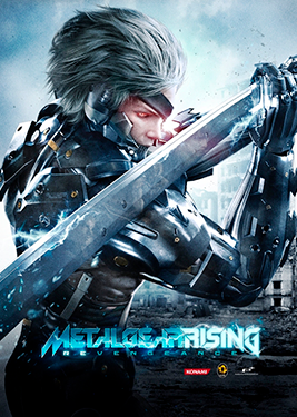 Metal Gear Rising: Revengeance постер (cover)