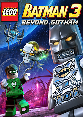 LEGO Batman 3: Beyond Gotham постер (cover)