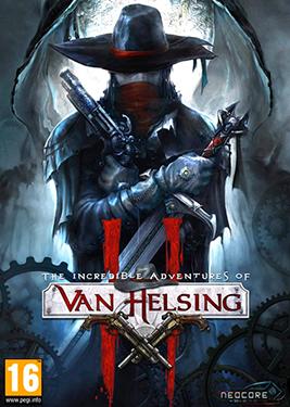 The Incredible Adventures of Van Helsing II постер (cover)
