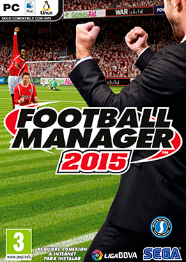 Football Manager 2015 постер (cover)