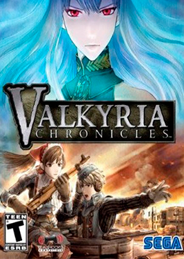 Valkyria Chronicles постер (cover)