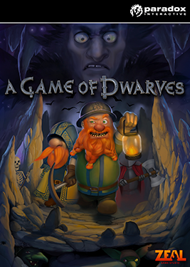 A Game of Dwarves постер (cover)