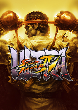 Ultra Street Fighter IV постер (cover)
