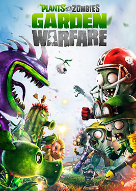 Plants vs. Zombies: Garden Warfare постер (cover)