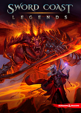 Sword Coast Legends постер (cover)