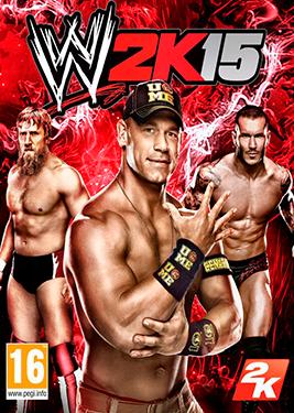 WWE 2K15 постер (cover)
