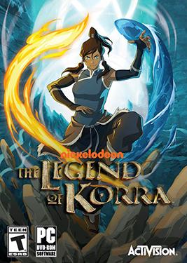 The Legend of Korra постер (cover)