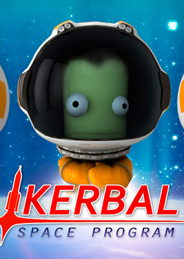 Kerbal Space Program постер (cover)