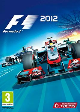 F1 2012 постер (cover)