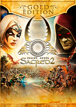 Sacred 2 Gold постер (cover)