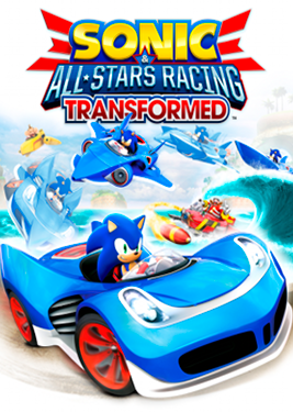 Sonic & All-Stars Racing Transformed постер (cover)