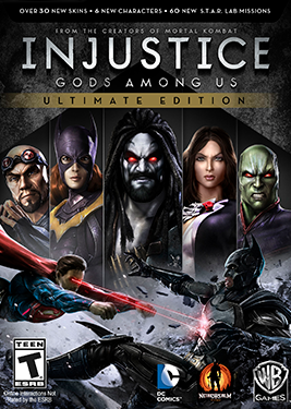 Injustice: Gods Among Us - Ultimate Edition постер (cover)