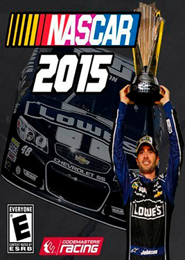 NASCAR '15 постер (cover)