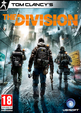 Tom Clancy's The Division постер (cover)