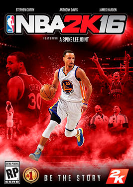 NBA 2K16 постер (cover)