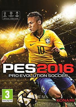 Pro Evolution Soccer 2016 постер (cover)