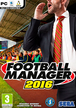 Football Manager 2016 постер (cover)