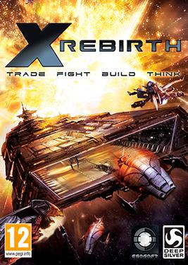X Rebirth постер (cover)