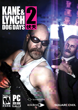 Kane & Lynch 2: Dog Days постер (cover)