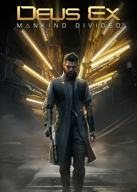 Deus Ex: Mankind Divided постер (cover)