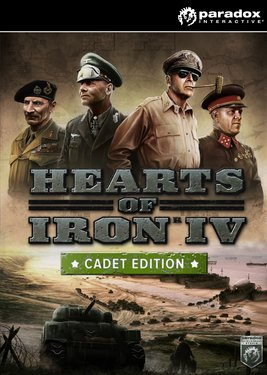 Hearts of Iron IV: Cadet Edition постер (cover)