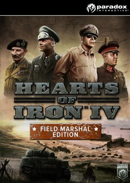 Hearts of Iron IV: Field Marshal Edition постер (cover)