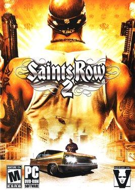 Saints Row 2 постер (cover)