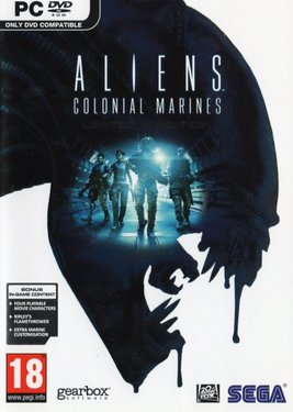 Aliens: Colonial Marines постер (cover)