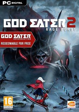 GOD EATER 2 Rage Burst постер (cover)