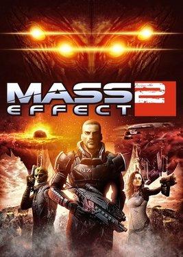 Mass Effect 2 постер (cover)