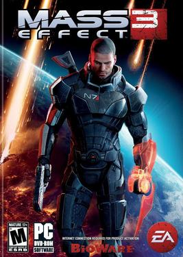 Mass Effect 3 постер (cover)