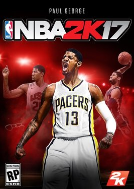 NBA 2K17 постер (cover)