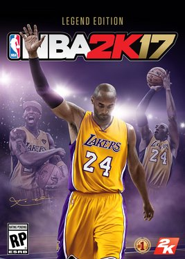 NBA 2K17 - Legend Edition постер (cover)