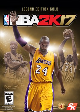 NBA 2K17 - Legend Edition Gold постер (cover)