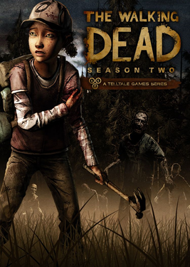 The Walking Dead: Season 2 постер (cover)
