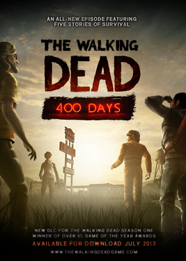 The Walking Dead: 400 Days постер (cover)