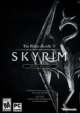 The Elder Scrolls V: Skyrim - Special Edition постер (cover)