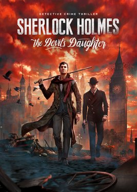 Sherlock Holmes: The Devil's Daughter постер (cover)
