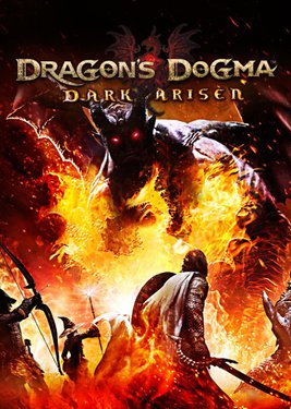 Dragon's Dogma: Dark Arisen постер (cover)