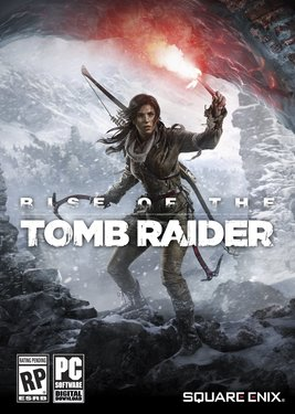 Rise of the Tomb Raider постер (cover)