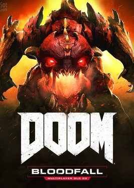 DOOM: Bloodfall постер (cover)