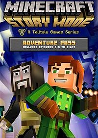 Minecraft: Story Mode - Adventure Pass постер (cover)