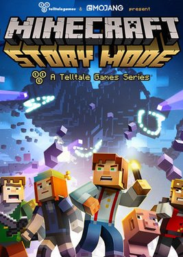 Minecraft: Story Mode - A Telltale Games Series постер (cover)