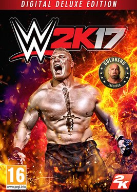 WWE 2K17 - Digital Deluxe постер (cover)