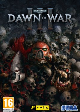 Warhammer 40,000: Dawn of War III постер (cover)