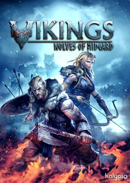 Vikings - Wolves of Midgard постер (cover)